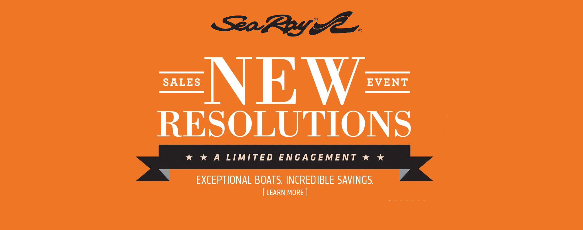 New Resolutions Sales Event