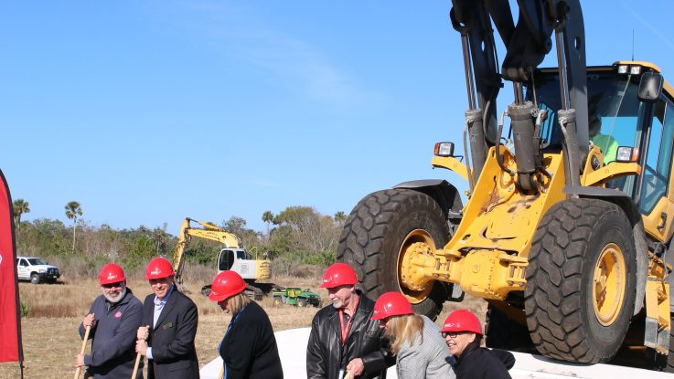 BOSTON WHALER HOLDS GROUNDBREAKING CEREMONY FOR EXPANSION PROJECT AT ITS EDGEWATER, FLORIDA FACILITY