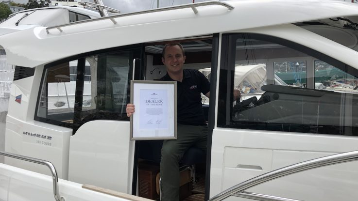 NEW ZEALAND BOAT DEALERSHIP WINS GLOBAL DEALER OF THE YEAR